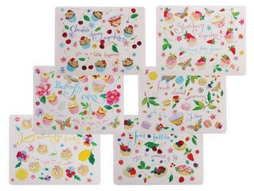 Sweet Treats Placemat 34x27cm Set of 6