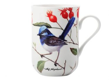 Birds of Australia Eric Shepherd Mug 300ML Wren