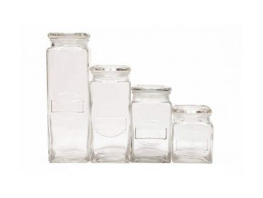 Olde English Storage Jars Set Of 4