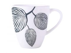 Panama Coupe Mug 350ML White & Grey