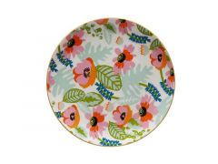 Teas & C's Glastonbury Plate 20cm Alpinia White