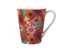 Teas & C's Glastonbury Mug 360ML Poppy