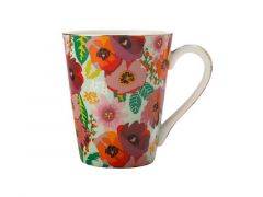 Teas & C's Glastonbury Mug 360ML Poppy Aqua