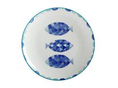 Reef Dinner Plate 27cm Fish