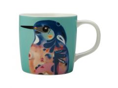 Pete Cromer Mug 375ML Azure Kingfisher