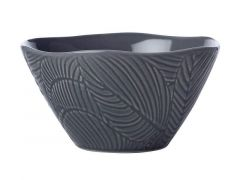 Panama Conical Bowl 15cm Grey