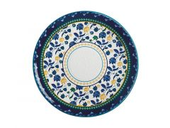 Rhapsody Round Platter 36.5cm Blue Gift Boxed