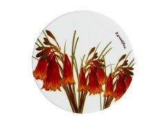 Royal Botanic Gardens Ceramic Round Coaster 9.5cm Christmas Bells