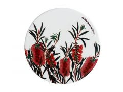Royal Botanic Gardens Ceramic Round Coaster 9.5cm Bottlebrush