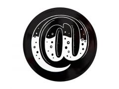 "The Letterettes Ceramic Round Coaster 10.5cm ""@"" Gift Boxed"