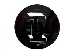 "The Letterettes Ceramic Round Coaster 10.5cm ""I"" Gift Boxed"