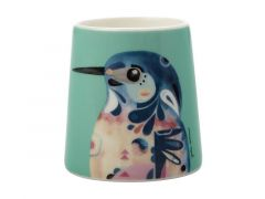 Pete Cromer Egg Cup Azure Kingfisher
