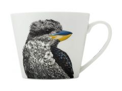 Marini Ferlazzo Birds Mug 450ML Sqt Laughing Kookaburra