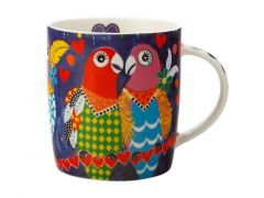 Love Hearts Mug 370ML Love Birds