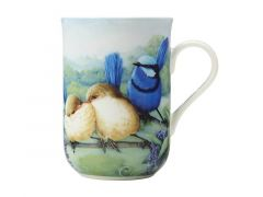 Birds of Australia 10 year Anniversary Mug 300ML Splendid Fairy-wren