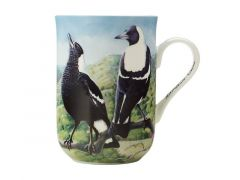 Birds of Australia 10 year Anniversary Mug 300ML Magpie