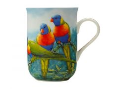 Birds of Australia 10 year Anniversary Mug 300ML Lorikeet