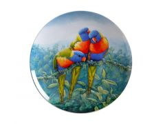 Birds of Australia 10 year Anniversary Plate 20cm Lorikeet