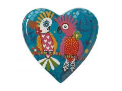 Love Hearts Heart Plate 15.5cm Chatter