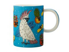 Mulga the Artist Mug 450ML Cockatoo