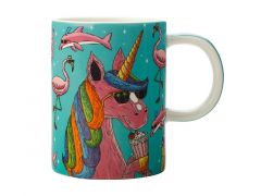 Mulga the Artist Mug 450ML Unicorn