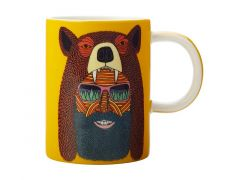 Mulga the Artist Mug 450ML Bear Man