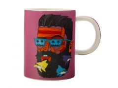 Mulga the Artist Mug 450ML Dolphin Man