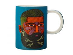Mulga the Artist Mug 450ML Spanner Man