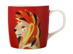 Pete Cromer Wildlife Mug 375ML Lion Gift Boxed