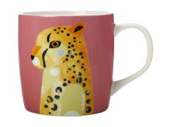 Pete Cromer Wildlife Mug 375ML Cheetah Gift Boxed