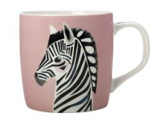 Pete Cromer Wildlife Mug 375ML Zebra Gift Boxed