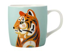 Pete Cromer Wildlife Mug 375ML Tiger Gift Boxed