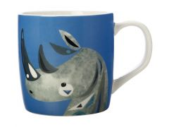 Pete Cromer Wildlife Mug 375ML Rhino Gift Boxed