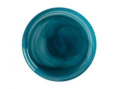 Marblesque Plate 18.5cm Teal