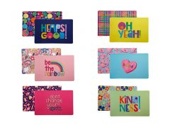Kasey Rainbow Be Kind Reversible Placemat 43.5x28.5cm 6pc Gift Pack