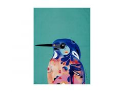 Pete Cromer Tea Towel 50x70cm Azure Kingfisher