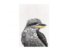 Marini Ferlazzo Birds Tea Towel 50x70cm Laughing Kookaburra