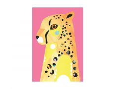 Pete Cromer Wildlife Tea Towel 50x70cm Cheetah
