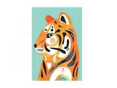 Pete Cromer Wildlife Tea Towel 50x70cm Tiger