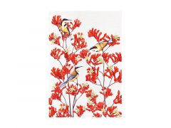 Royal Botanic Gardens Victoria Garden Friends Tea Towel 50x70cm Spinebill