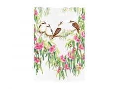 Royal Botanic Gardens Victoria Garden Friends Tea Towel 50x70cm Kookaburra