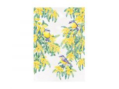 Royal Botanic Gardens Victoria Garden Friends Tea Towel 50x70cm Robin