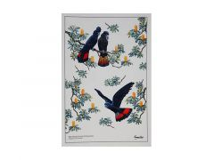 Birdsong Tea Towel 50x70cm Cockatoo