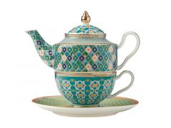 Teas & C's Kasbah Tea For 1 with Infuser 380ML Mint Gift Boxed