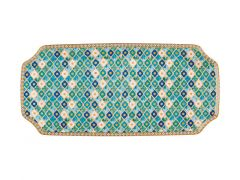 Teas & C's Kasbah Rectangle Platter 25x11.5cm Mint Gift Boxed