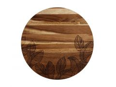 Panama Acacia Round Serving Board 46cm