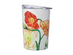 Katherine Castle Floriade Double Wall Insulated Cup 360ML Poppies