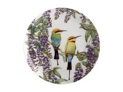 Royal Botanic Gardens Victoria Garden Friends Plate 20cm Rainbow Bee-eater Gift Boxed