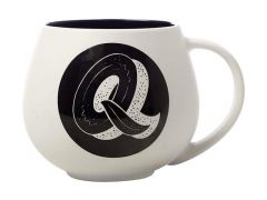 "The Letterettes Snug Mug 450ML ""Q"" Gift Boxed"
