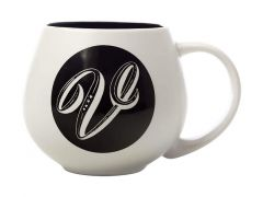 "The Letterettes Snug Mug 450ML ""V"" Gift Boxed"